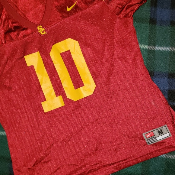 size 40 6f9c5 24060 College football jersey size med youth USC